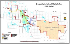 Crescent Lake land-use map